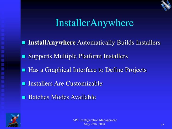InstallerAnywhere