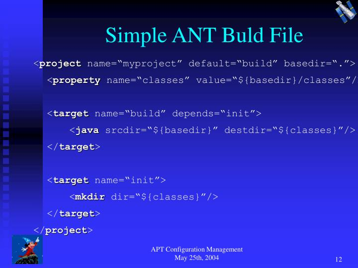 Simple ANT Buld File