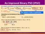 an improved binary pso ipso3