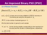 an improved binary pso ipso4