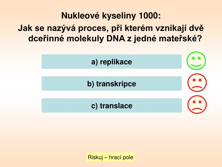 Nukleové kyseliny 1000: