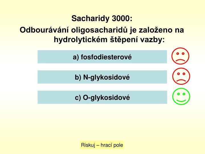 Sacharidy 3000: