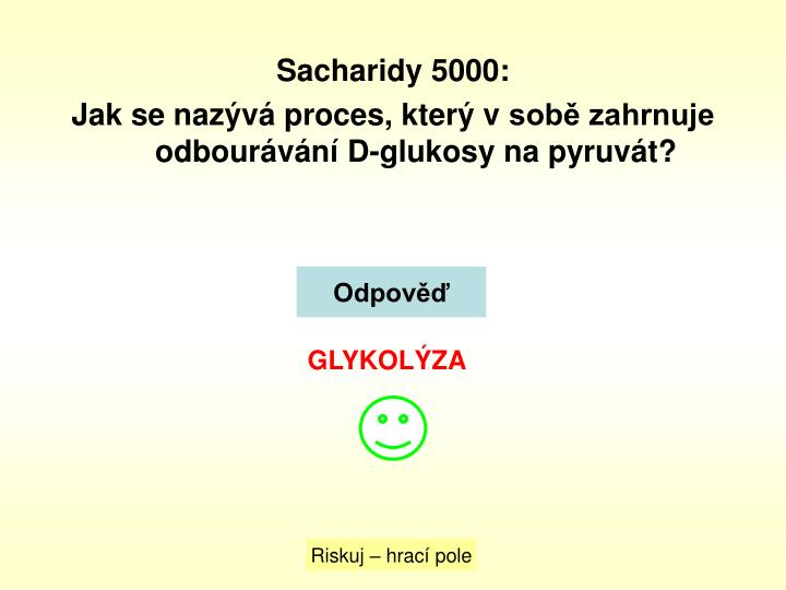Sacharidy 5000: