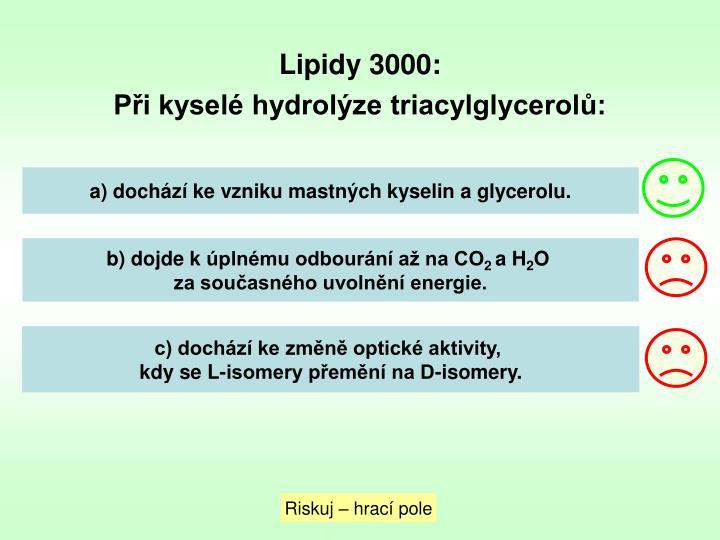 Lipidy 3000: