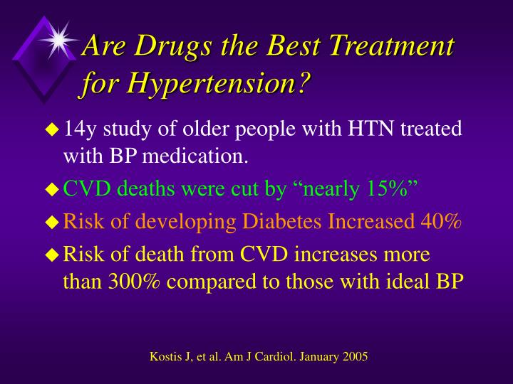 Are Drugs the Best Treatment for Hypertension?