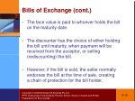 bills of exchange cont1