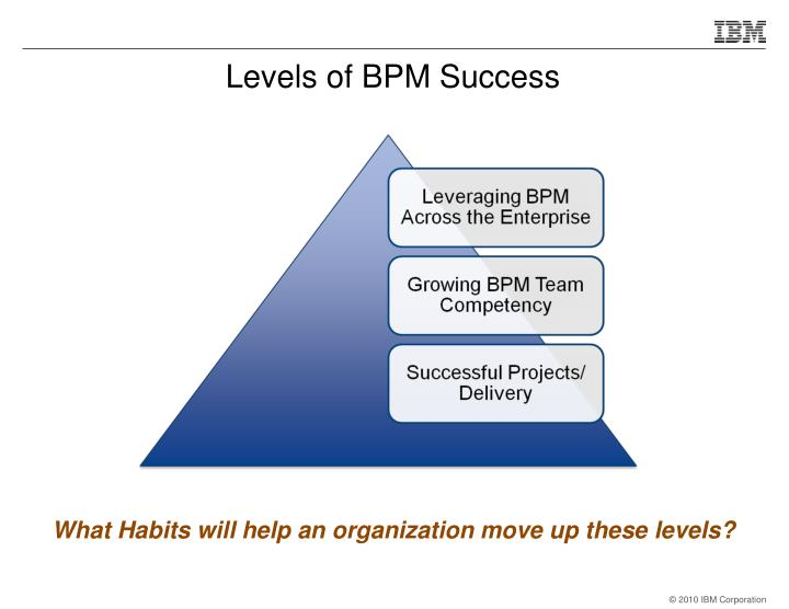 Levels of BPM Success