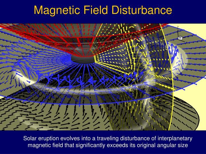 Magnetic Field Disturbance