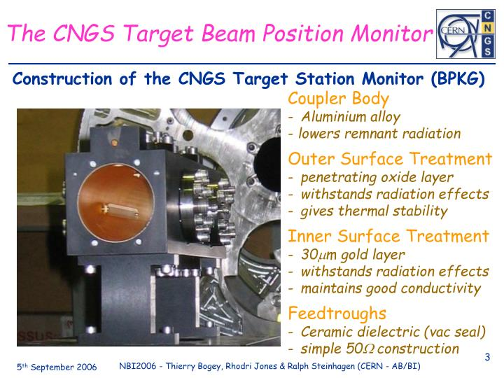 The CNGS Target Beam Position Monitor