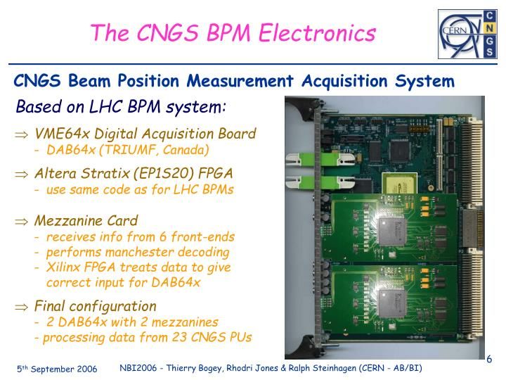 Based on LHC BPM system:
