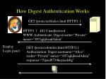 how digest authentication works