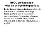 bpco en tat stable prise en charge th rapeutique1