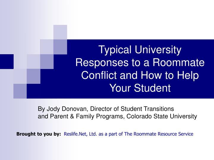 Typical University Responses to a Roommate Conflict and How to Help Your Student