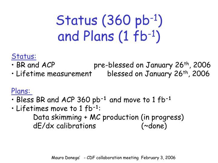 Status (360 pb