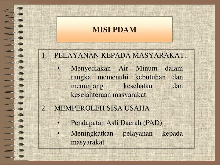 MISI PDAM