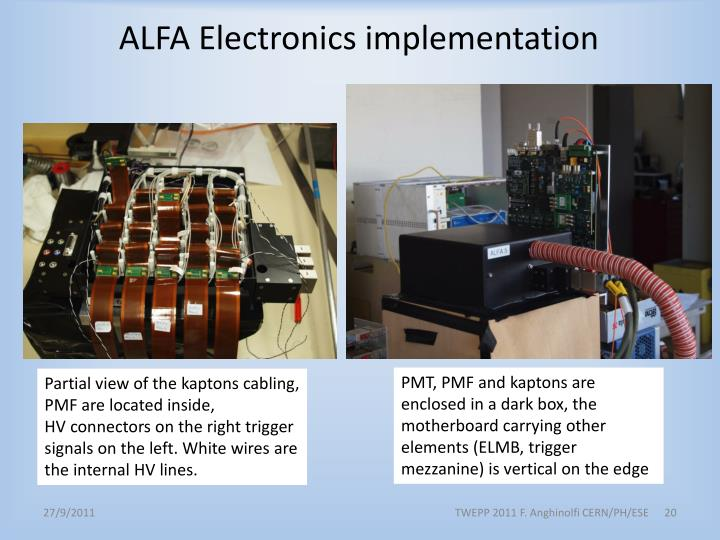 ALFA Electronics implementation