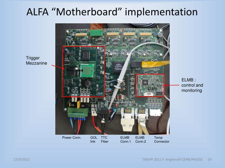 "ALFA ""Motherboard"" implementation"