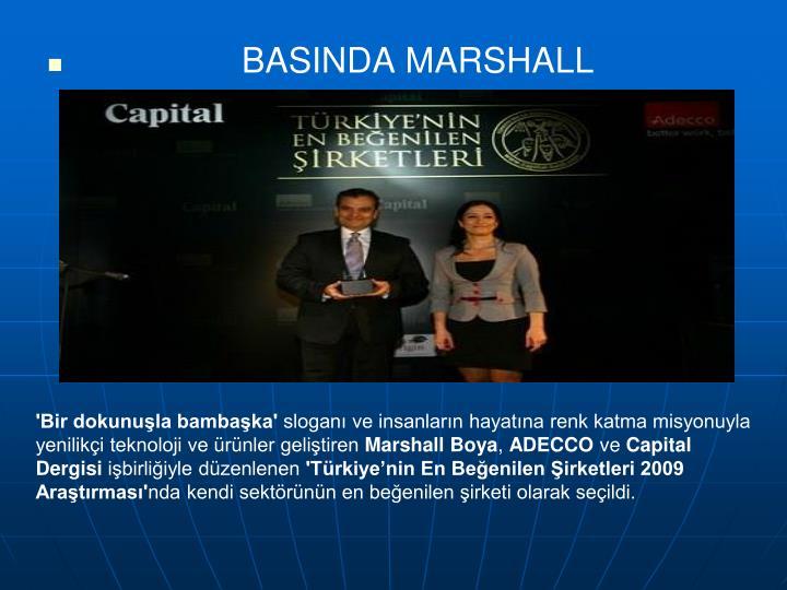BASINDA MARSHALL