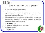e g hcg and accent 1999