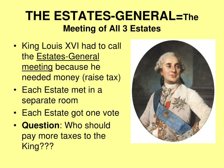 THE ESTATES-GENERAL=