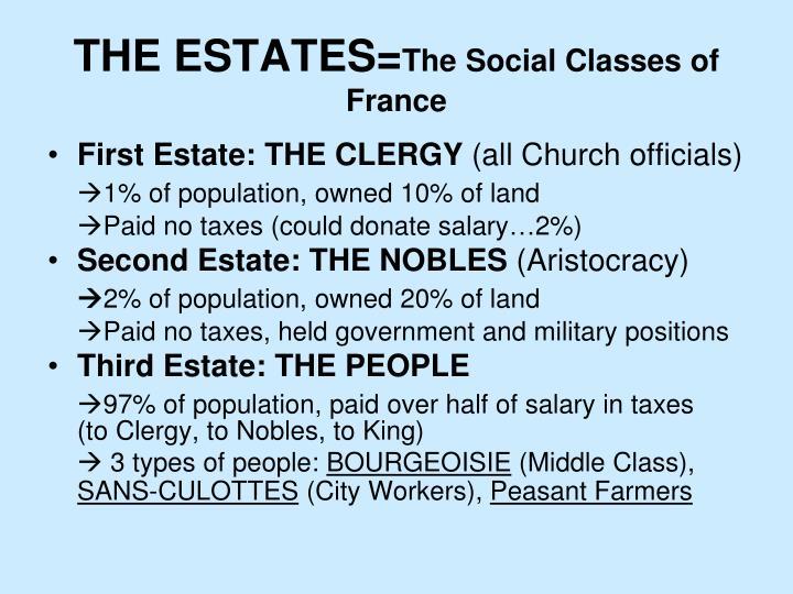 THE ESTATES=