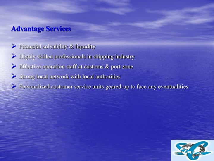 Advantage Services