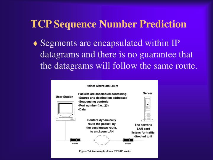 TCP Sequence Number Prediction