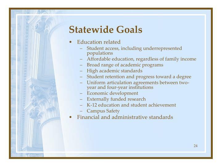 Statewide Goals