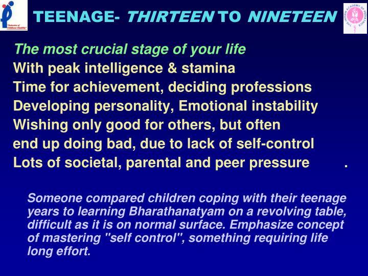 TEENAGE-