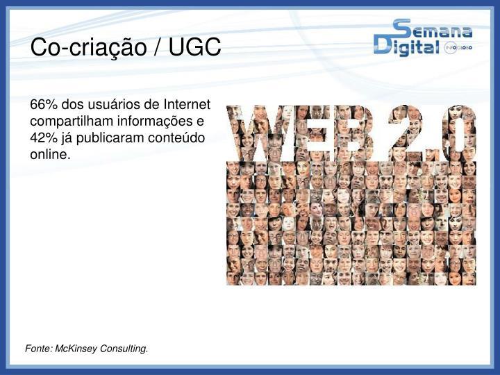 Co-criação / UGC