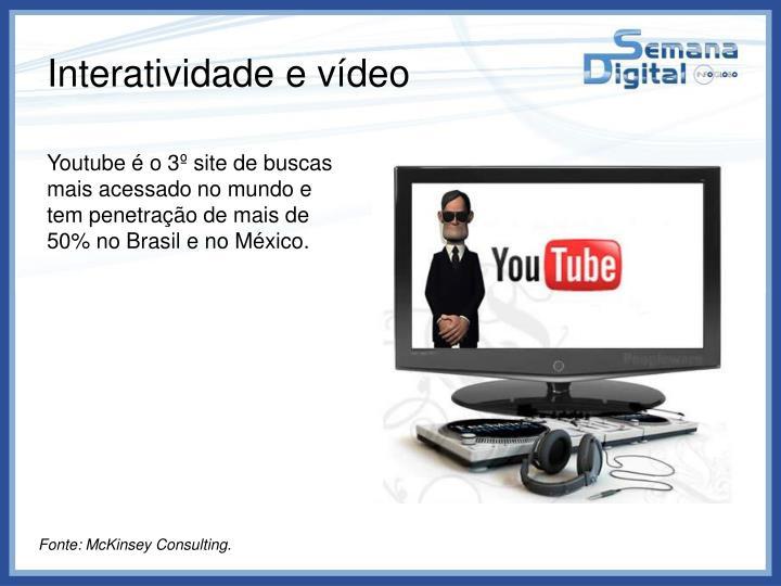 Interatividade e vídeo