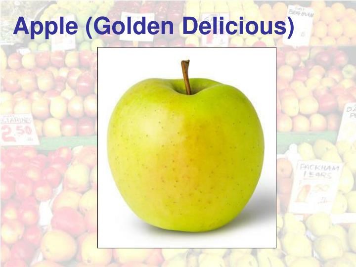 Apple (Golden Delicious)