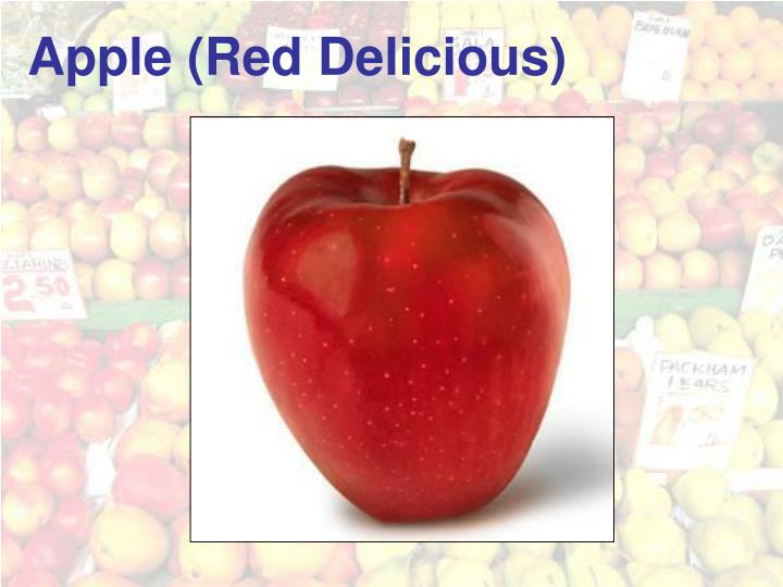 Apple (Red Delicious)