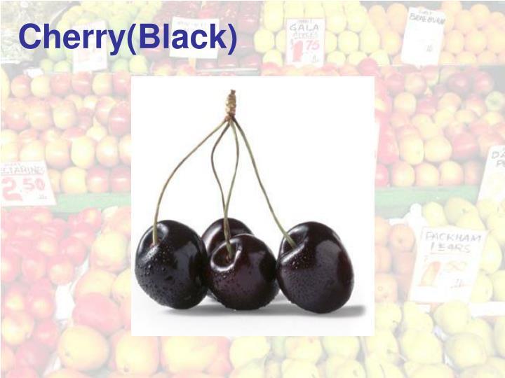 Cherry(Black)