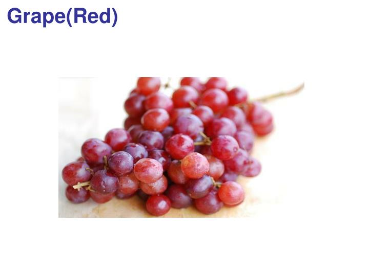 Grape(Red)