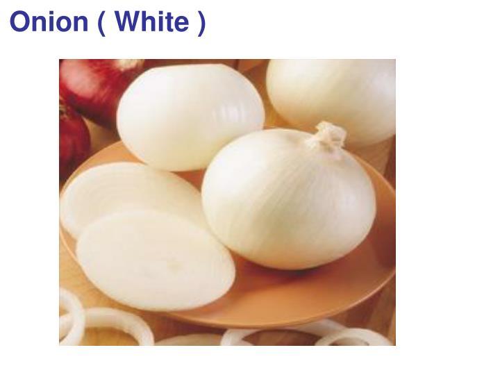 Onion ( White )