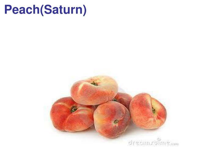 Peach(Saturn)