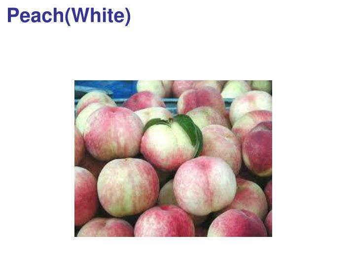 Peach(White)