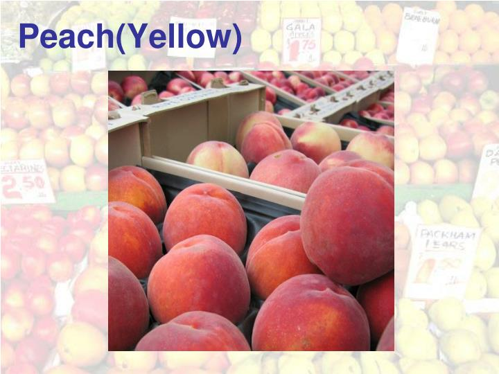 Peach(Yellow)