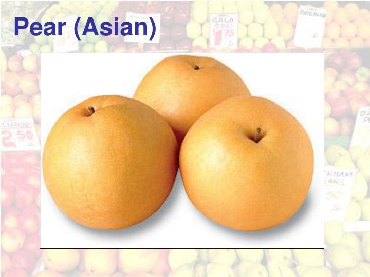 Pear (Asian)
