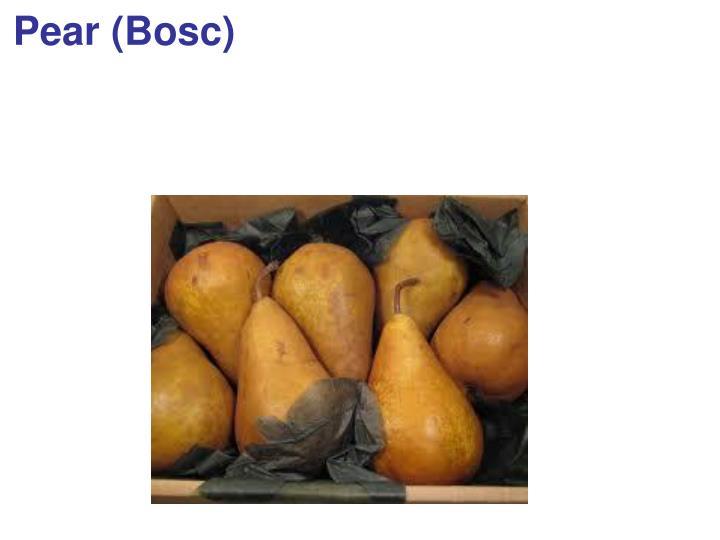 Pear (Bosc)