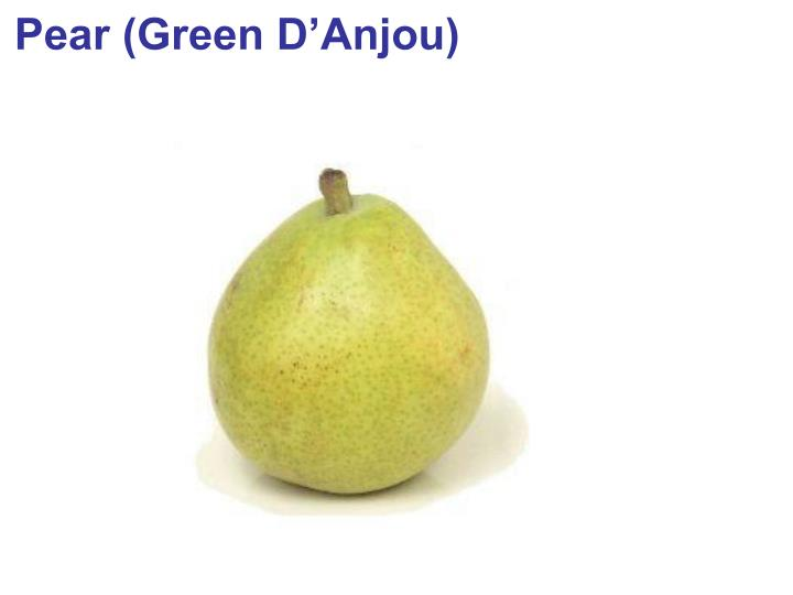 Pear (Green D'Anjou)