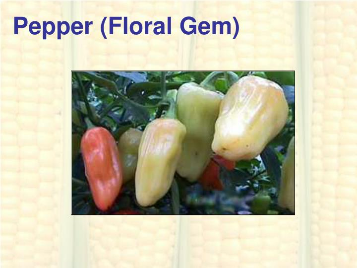 Pepper (Floral Gem)