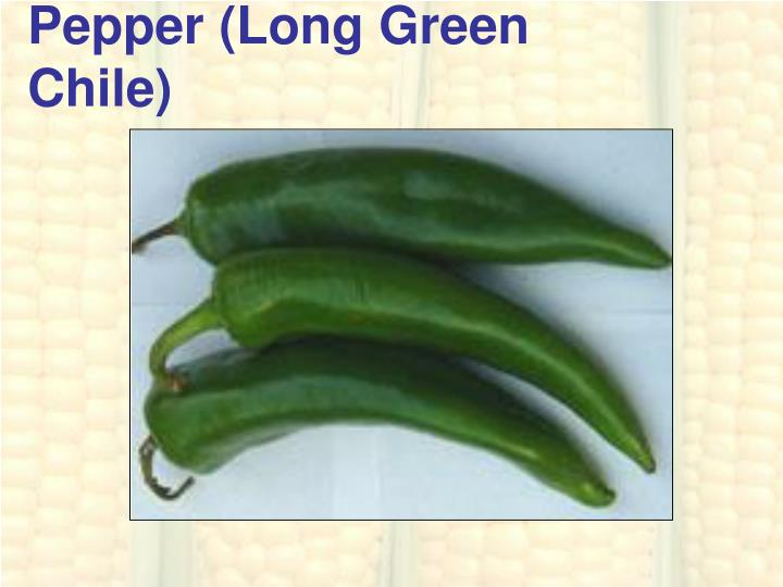 Pepper (Long Green Chile)
