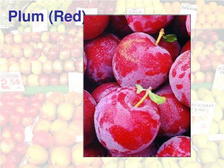 Plum (Red)