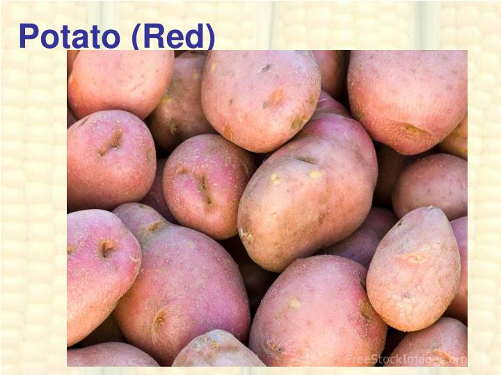 Potato (Red)