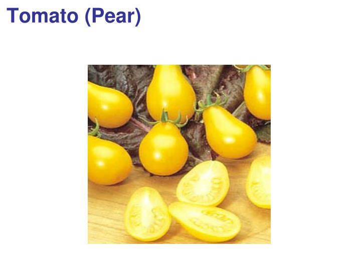 Tomato (Pear)