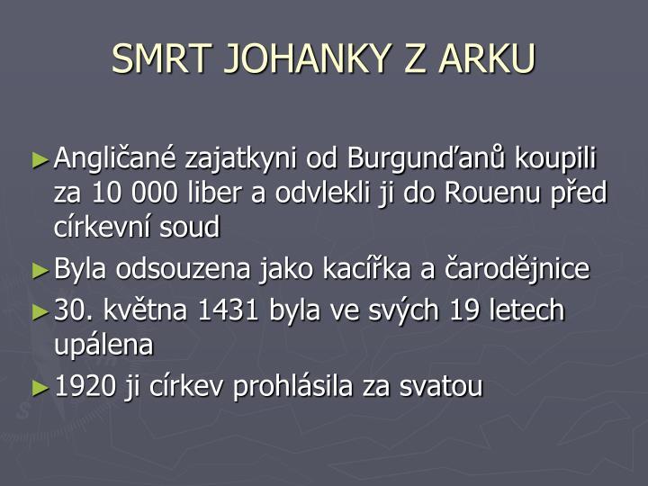 SMRT JOHANKY Z ARKU
