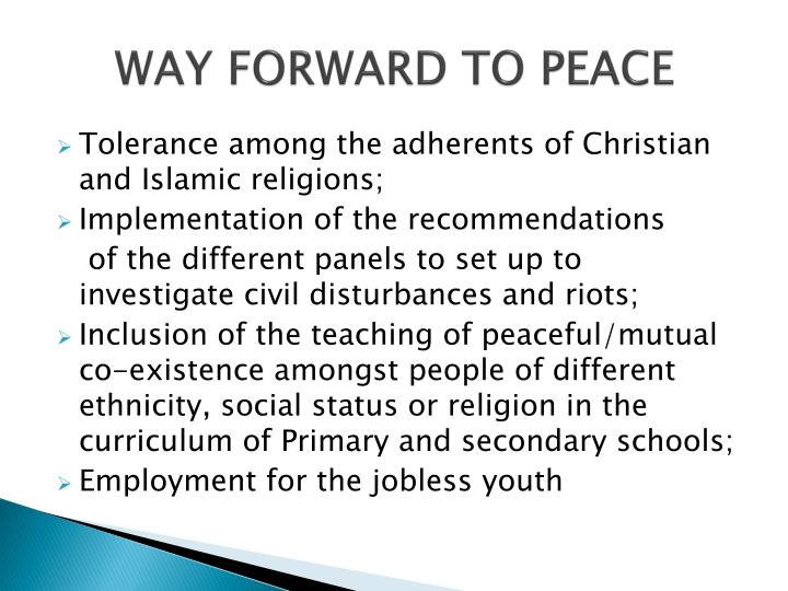 effects of religious crisis on economic development The impact of past and potential ethnic conflicts on kenyan's stability and development by: political, economic, cultural, religious and other impediments to.