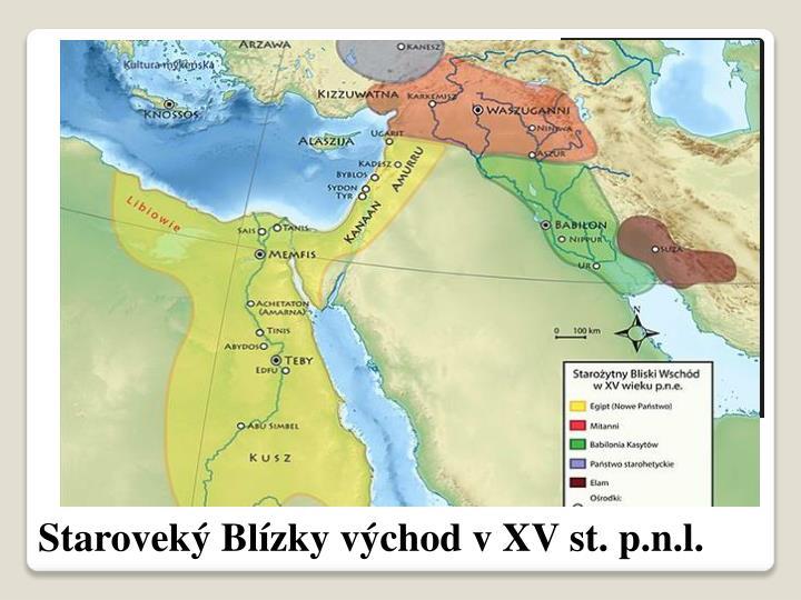 Staroveký Blízky východ v XV st. p.n.l.